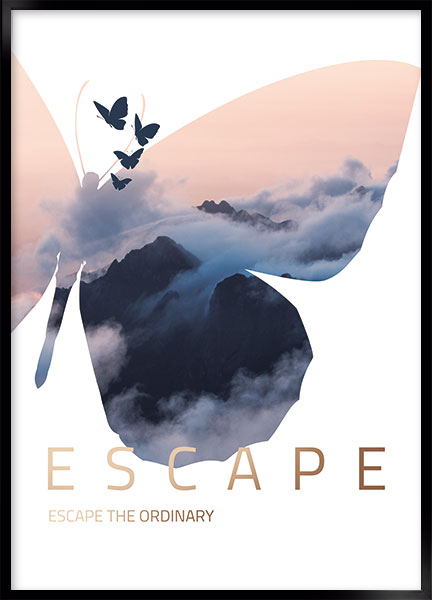 Plakat - Escape