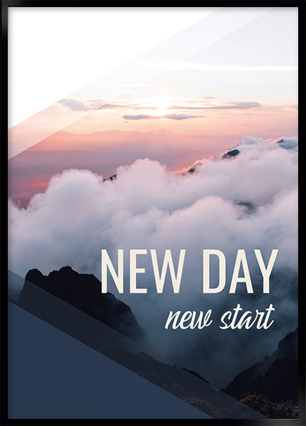 Plakat - New day