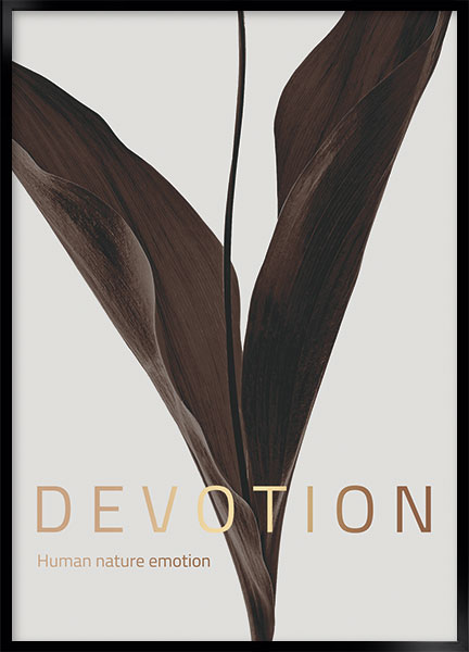 Plakat - Devotion