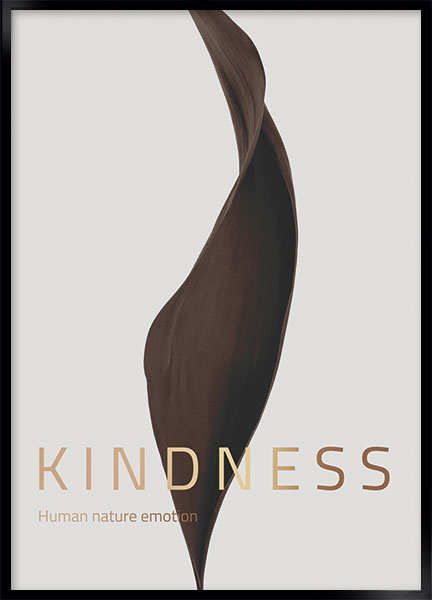 Plakat - Kindness