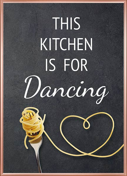 Plakat Kitchen dancing - Køkkenplakater