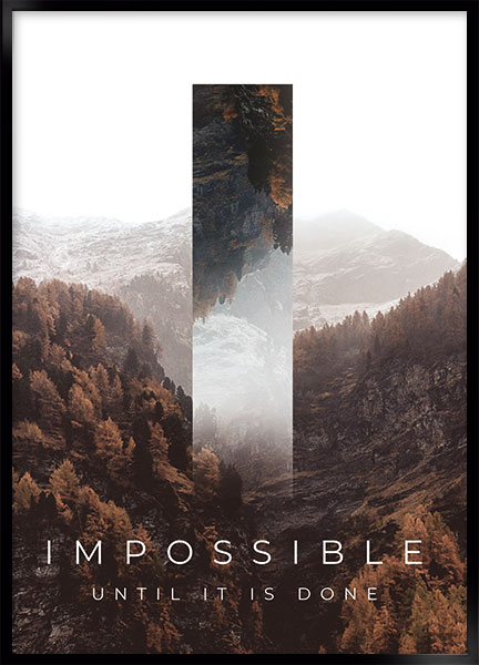 Plakat - Impossible