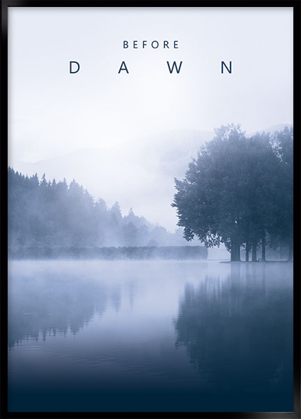 Plakat - Before dawn