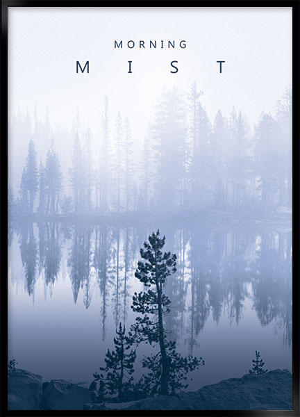 Plakat - Morning mist