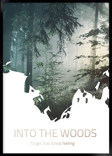 Plakat - Into the woods