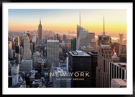 Plakat New York dreams - New York