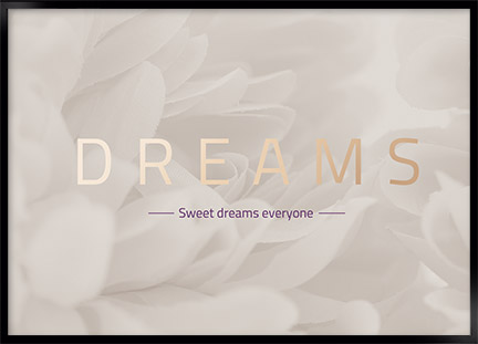 Plakat - Dreams