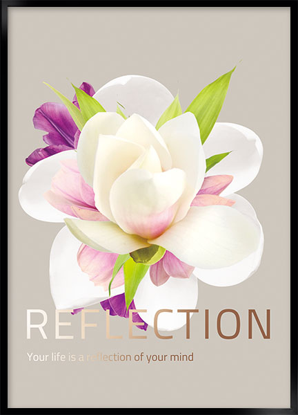 Plakat - Reflection