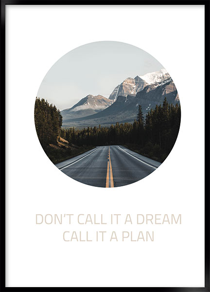 Plakat - Dont call it a dream