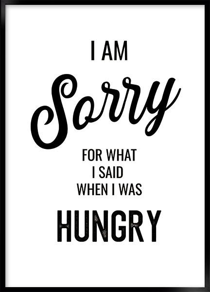 sorry hungry thumbnail