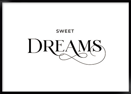 Plakat - Sweet dreams