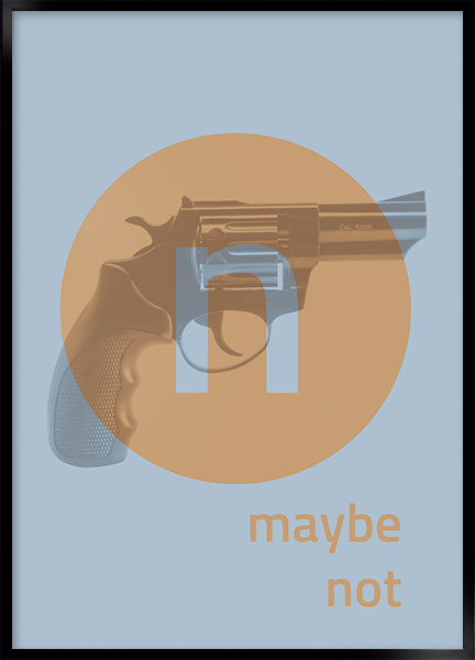 Plakat - Maybe not