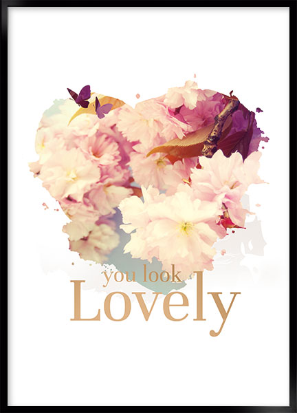 Plakat - Lovely