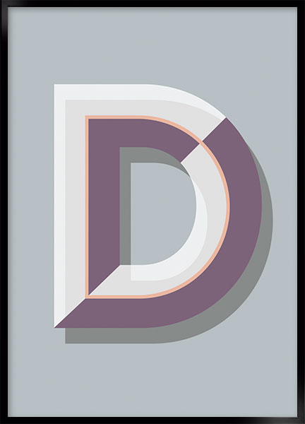 Plakat - D art deco