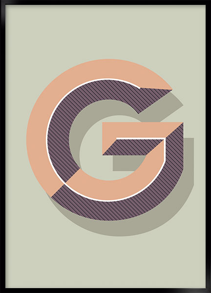 Plakat - G art deco