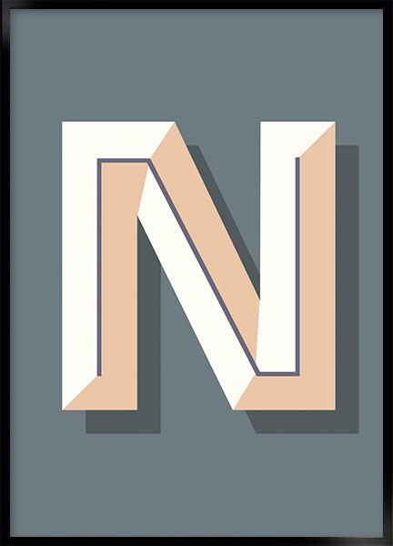 Plakat - N art deco