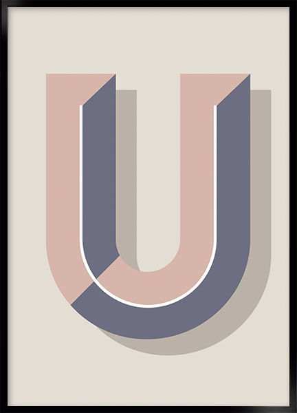 Plakat - U art deco