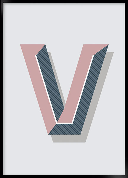 Plakat - V art deco